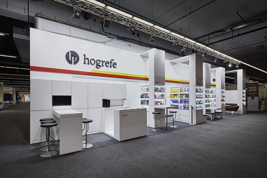Hogrefe Verlag Messebau Siehr Messestand 6