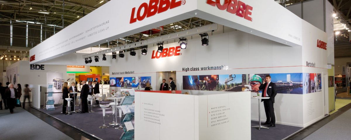 lobbe-industrieservice-messestand
