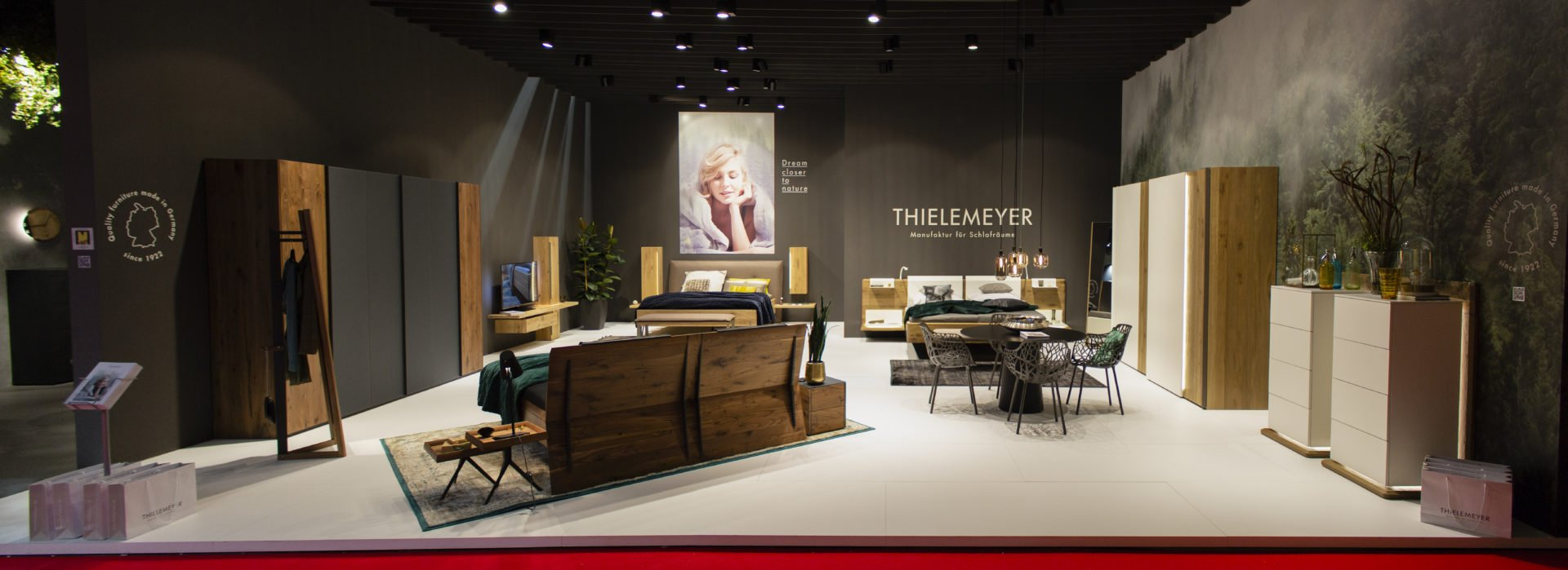 Thielemeyer Messeauftritt Design Messestand Siehr Messebau
