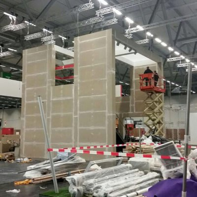 Engo Fsb 2017 Messestand Aufbau 1