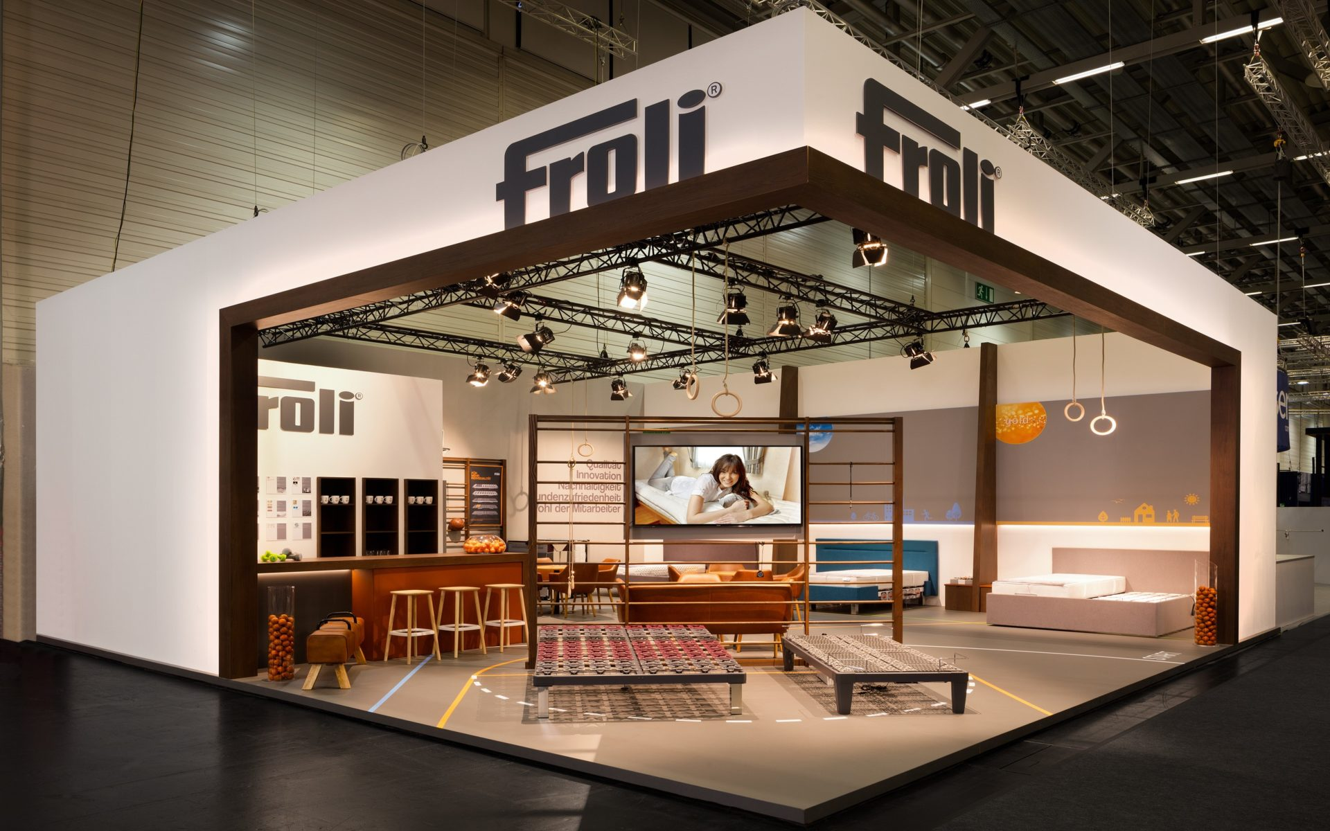 froli messestand imm 2019 messebau siehr bergisch gladbach bei k ln. Black Bedroom Furniture Sets. Home Design Ideas