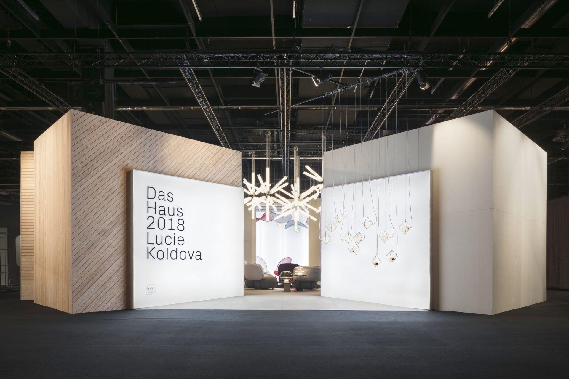 Das Haus 2018 Lucie Koldova, Halle 2.2, Pure Edition | Imm Cologne 2018