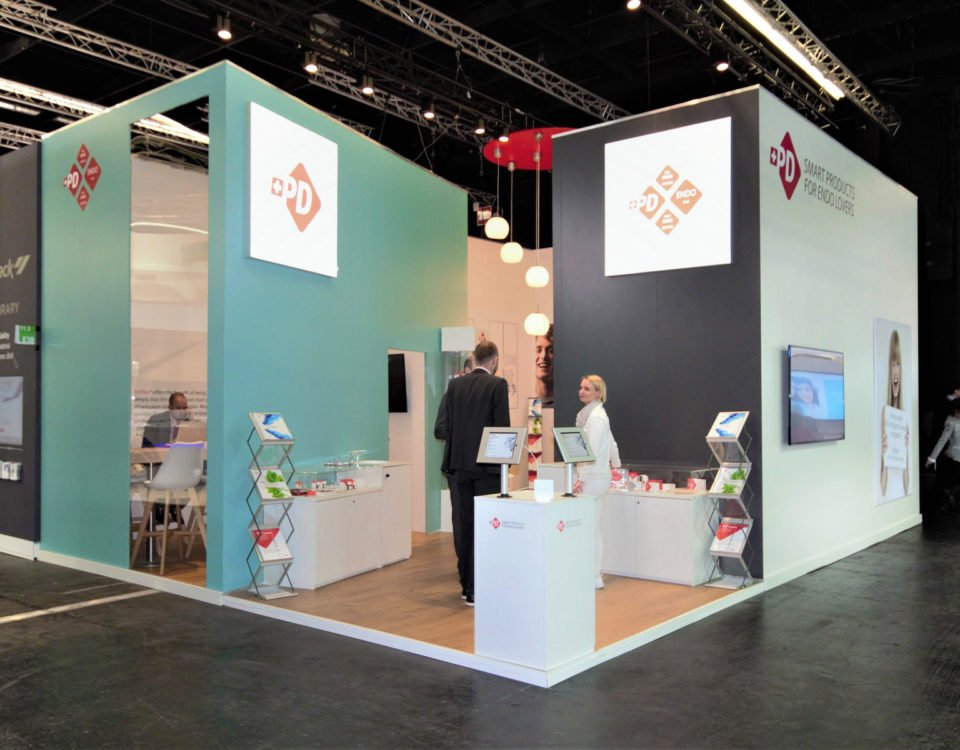 Produits Dentaires Sa Koeln Internationale Dental Show Cologne Messestand Messebau Messebauer 1