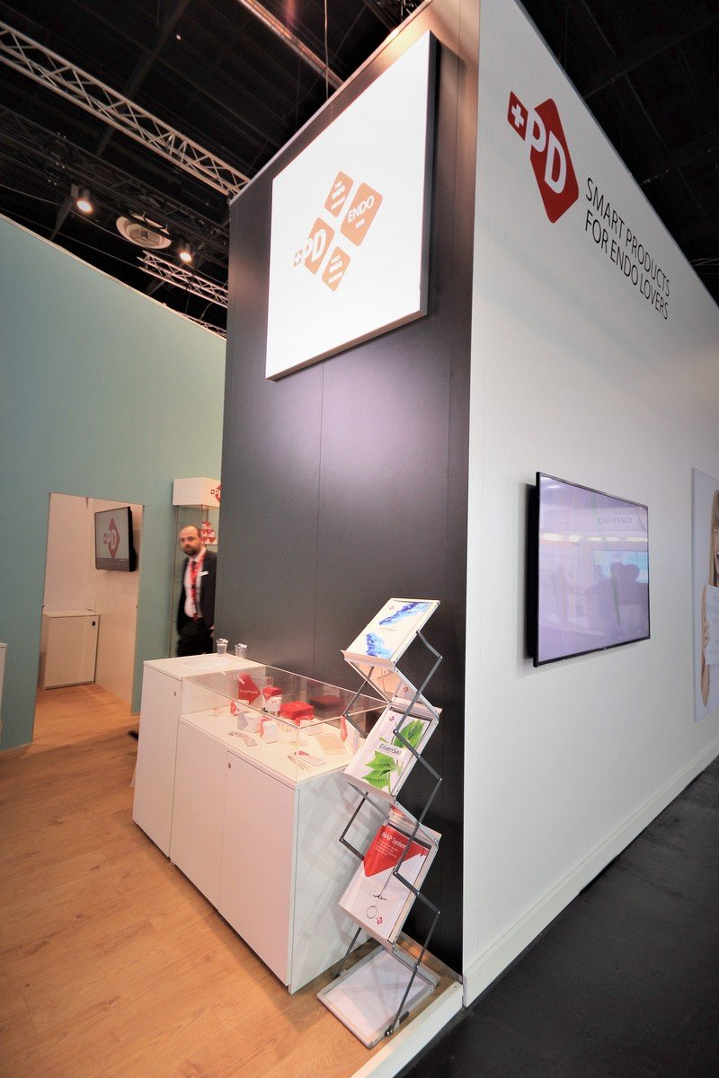 Produits Dentaires Sa Koeln Internationale Dental Show Cologne Messestand Messebau Messebauer 5