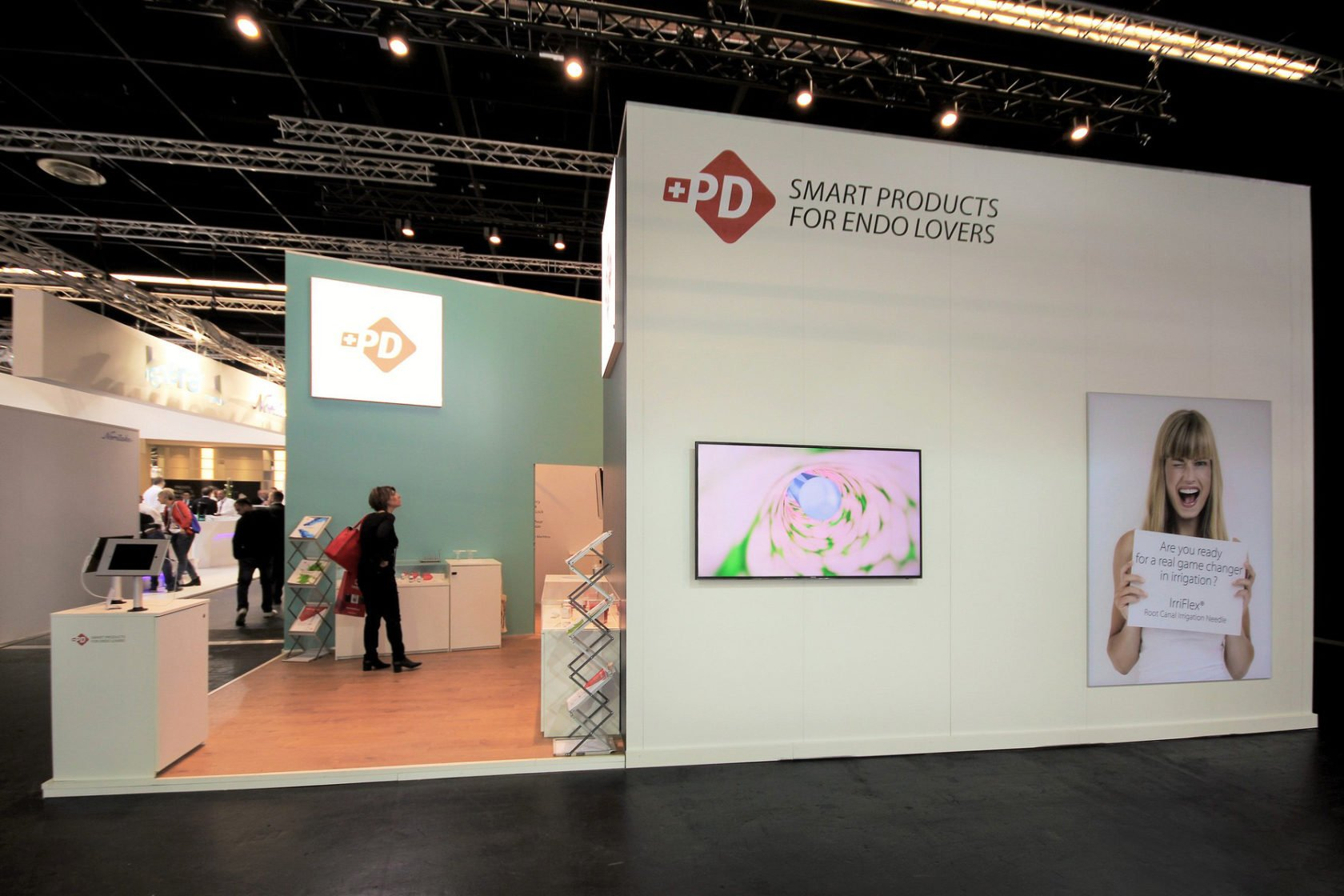 Produits Dentaires Sa Koeln Internationale Dental Show Cologne Messestand Messebau Messebauer 6