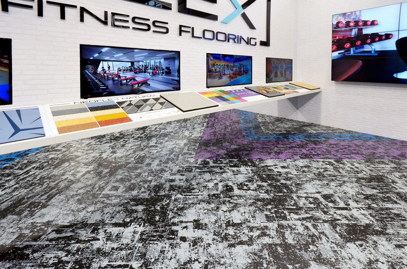 Rephouse Neoflex Fitness Floring Messestand Fibo 2018 1