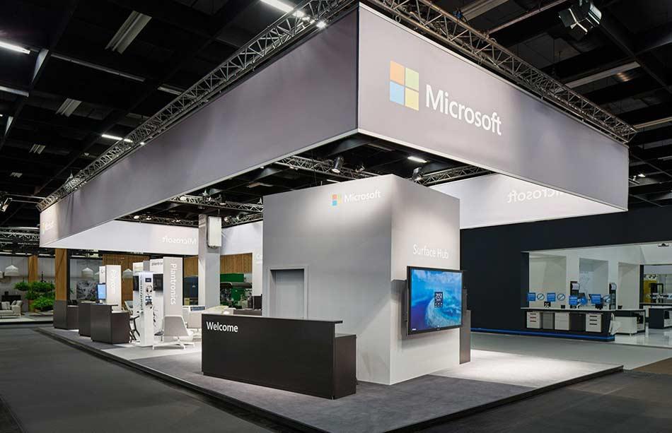 Siehr Messebau Microsoft 920x613